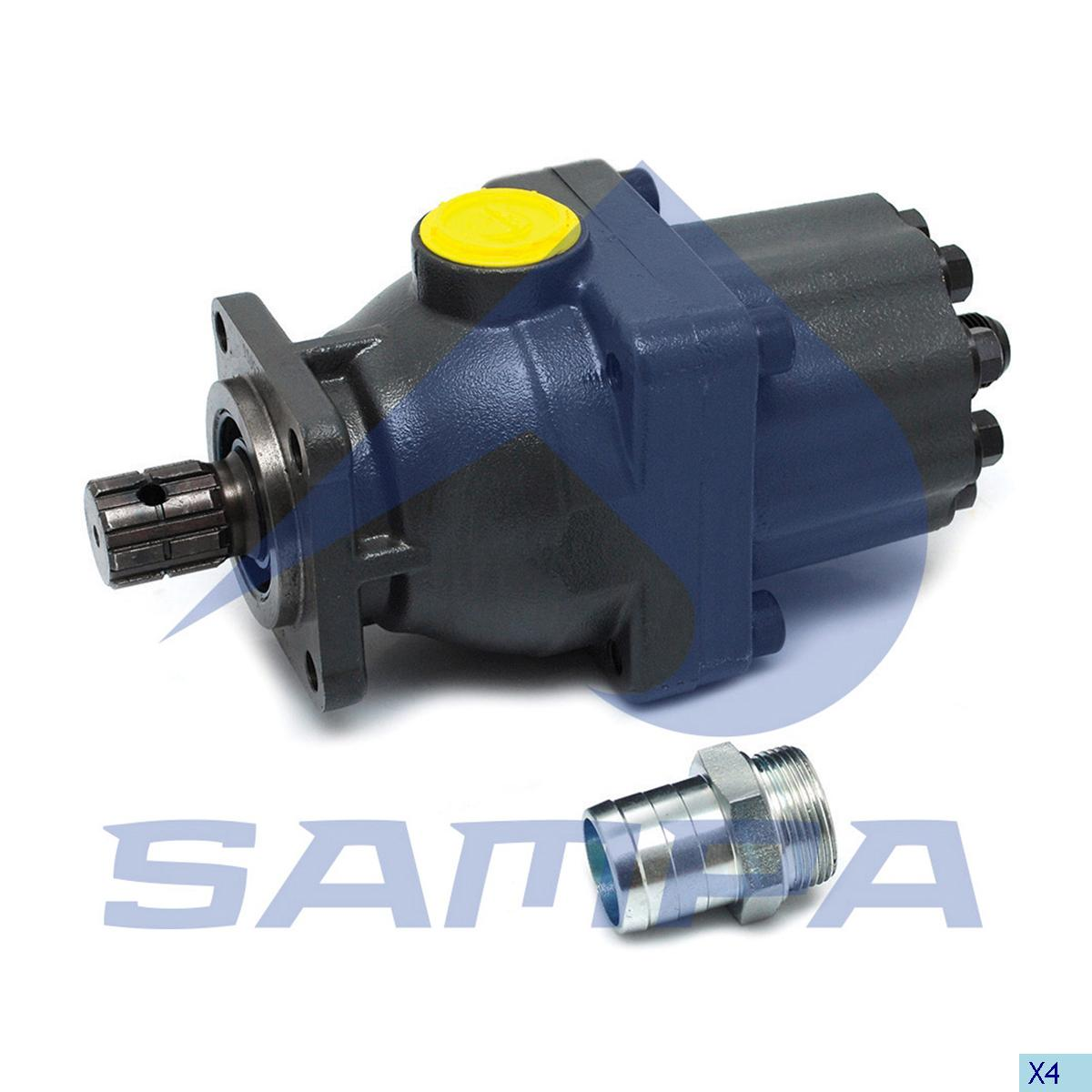 Valve, Power Take Off, Mercedes, Gear Box