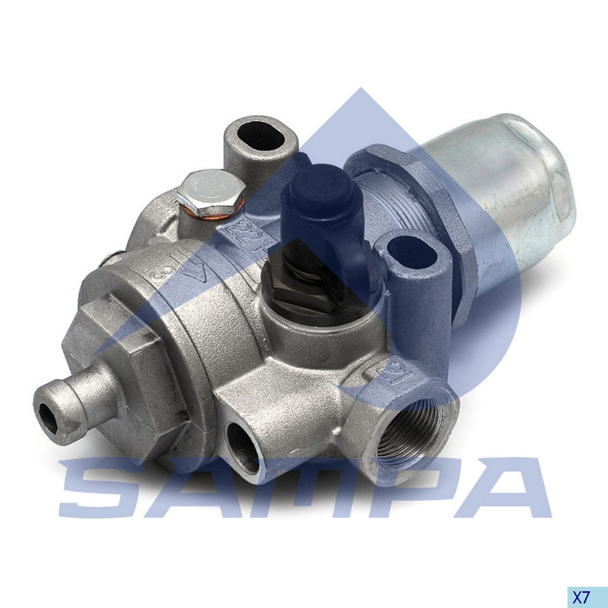 Pressure Control Valve, Mercedes, Compressed Air System