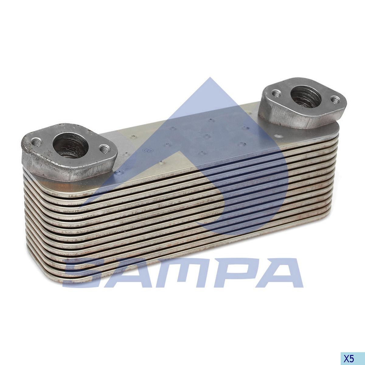 Oil Cooler, Mercedes, Engine