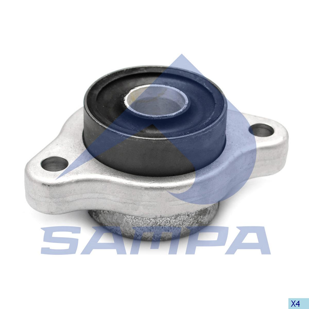 Rubber Bushing, Wishbone, Mercedes, Steering