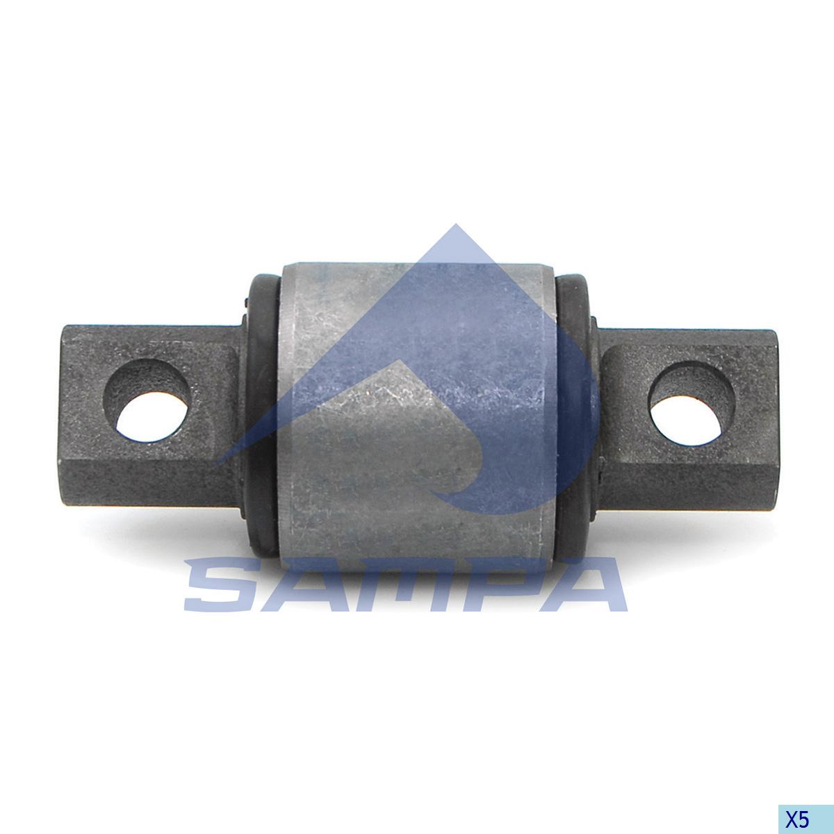 Rubber Bushing, Axle Rod, Freightliner, Suspension