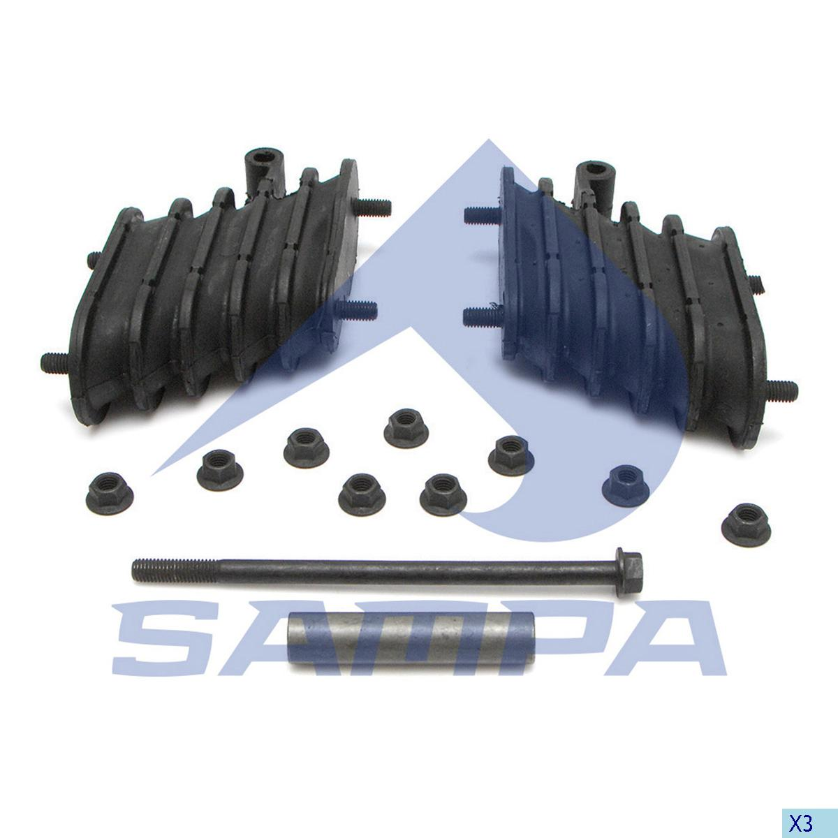 Repair Kit, Bogie Suspension, Hendrickson, Suspension
