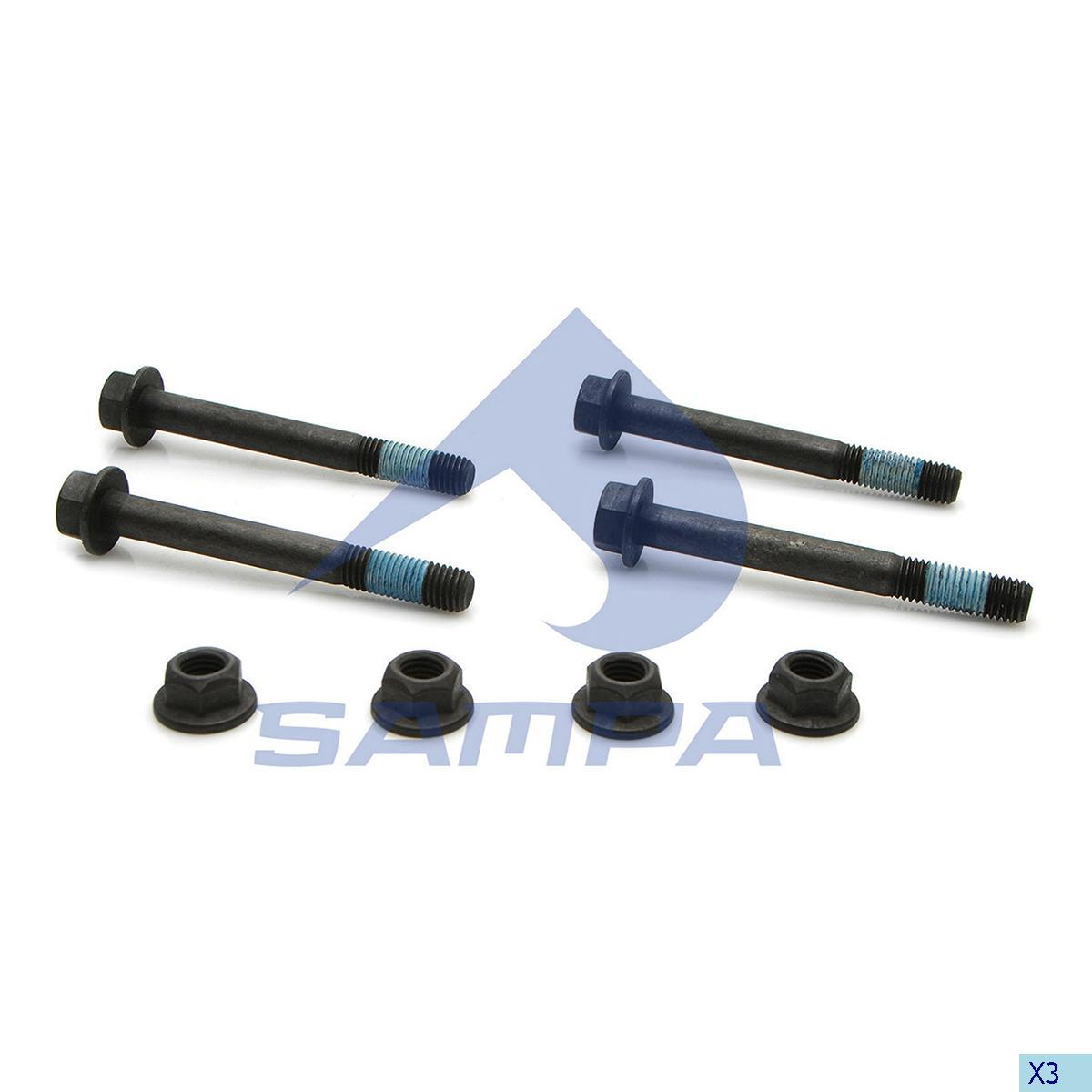 Repair Kit, Axle Rod, Chalmers, Suspension