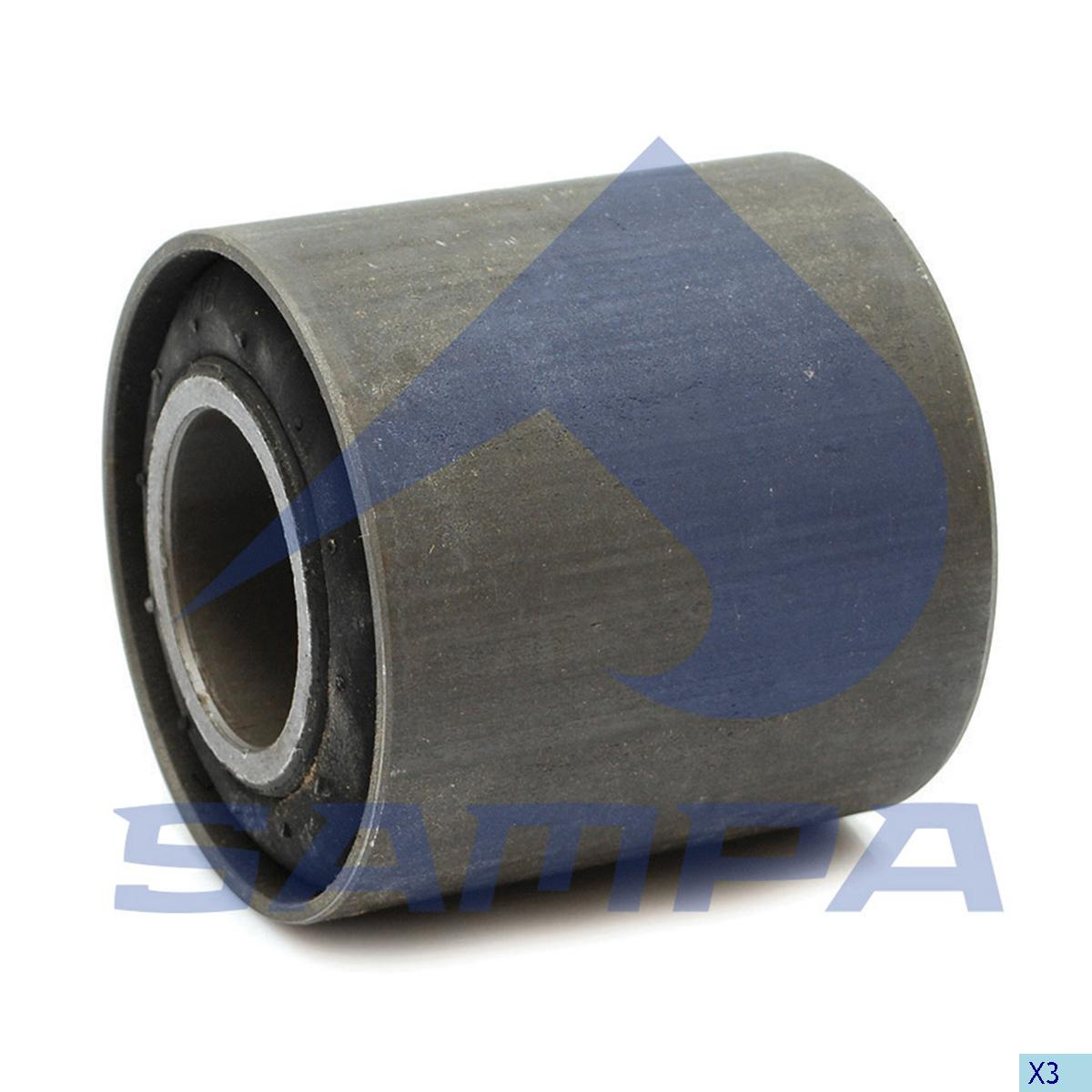 Rubber Bushing, Bogie Suspension, Ford, Suspension
