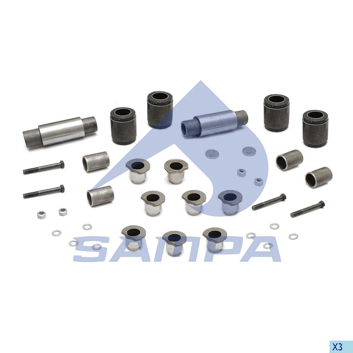 Repair Kit, Stabilizer Bar, Hendrickson, Suspension
