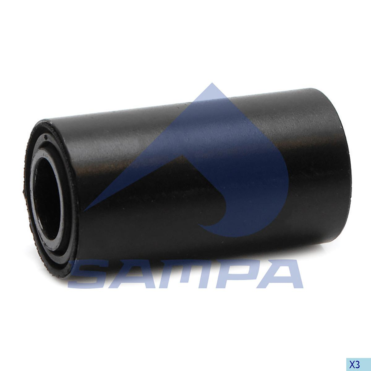 Rubber Bushing, Spring, Freightliner, Suspension