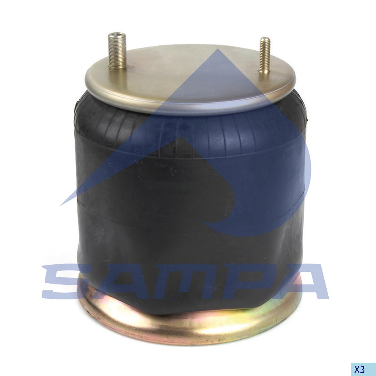Air Spring, Fruehauf, Suspension