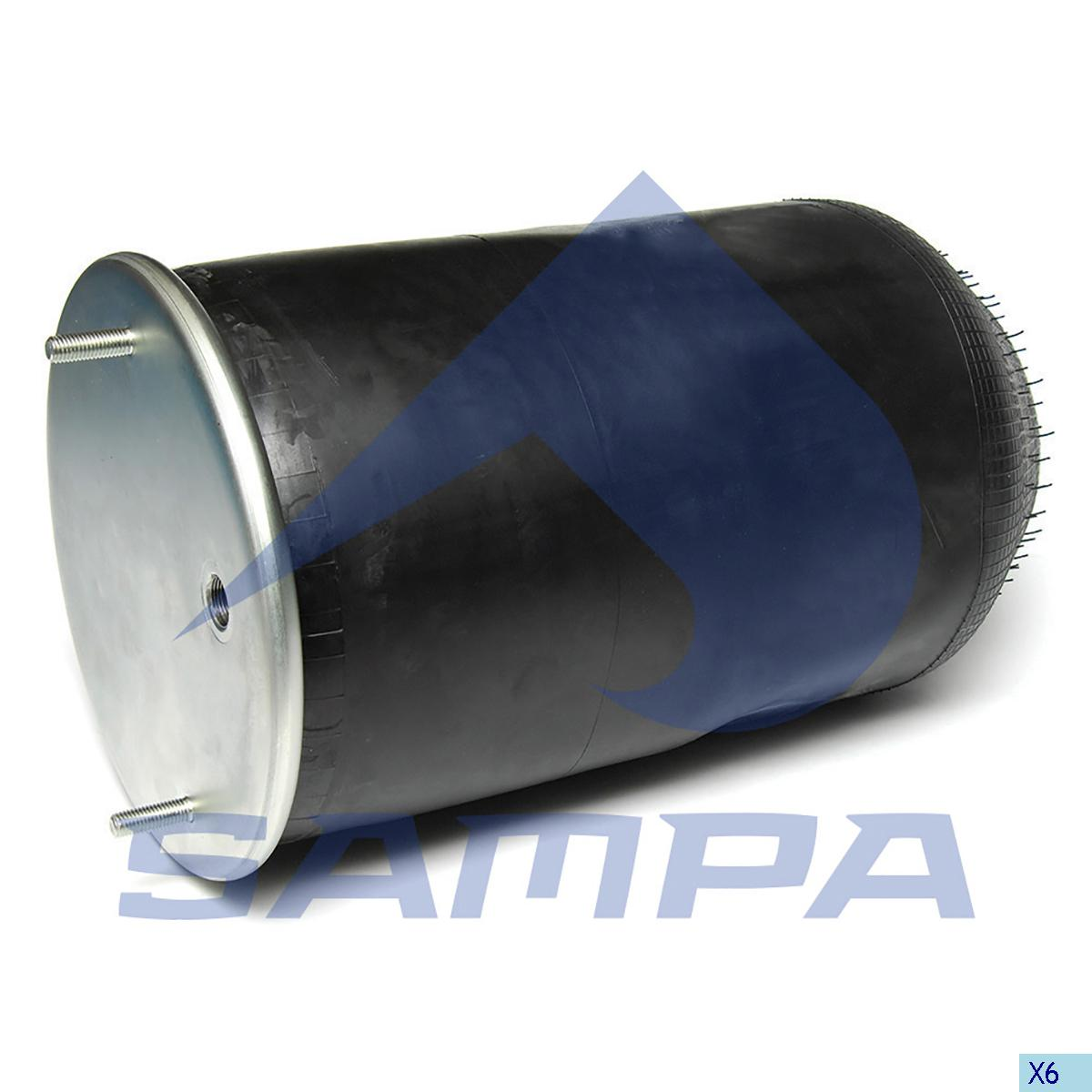 Air Spring, Ror-Meritor, Suspension